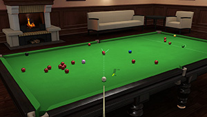 online billiard game
